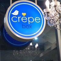 Photo taken at Crepe Box by NuchY on 9/5/2012