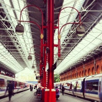 Photo taken at London Marylebone Railway Station (MYB) by Natalia P. on 7/12/2012