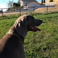 Photo taken at Dougherty Hills Dog Park by Challan M. on 8/21/2012