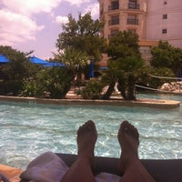 Photo taken at La Cantera Hill Country Resort Pool by Ana A. on 6/28/2012