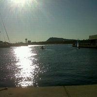 Photo taken at Escuela Nautica Port Olimpic De Barcelona by Marta P. on 2/4/2012