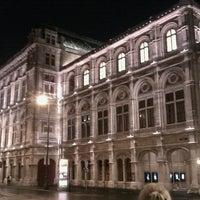 Photo taken at Vienna State Opera by Janusz M. on 9/1/2012
