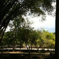 Photo taken at Parque Zona Norte by HeliotYoSoy on 3/3/2012