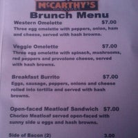 Photo taken at McCarthy's Downtown by Joanne V. on 3/25/2012