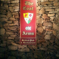 Photo taken at Coat of Arms Pub and Restaurant by Rachelle E. on 7/31/2012
