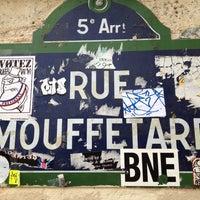 Photo prise au Rue Mouffetard par Al K. le5/3/2012