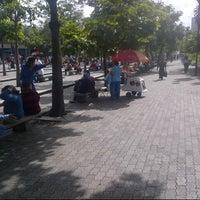 Photo taken at Plaza Luis Brión by Tecnomovida C. on 7/6/2012