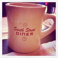 Photo taken at South Street Diner by Nanoo T. on 2/4/2012