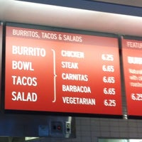 Photo taken at Chipotle Mexican Grill by Joseph B. on 3/1/2012