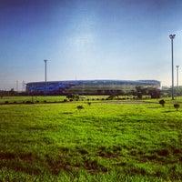 Photo taken at Estadio Monumental de Maturín by Carlos B. on 9/13/2012