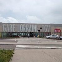 Photo taken at Gare SNCF de Lorraine TGV by Syrine L. on 6/21/2012
