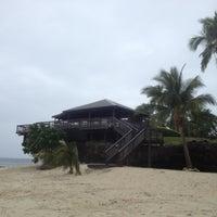 Photo taken at Rocks Bar @ Vomo Island Resort by Chuck D. on 5/19/2012