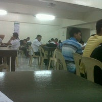Photo taken at SJB Library our lady of fatima university by Christopher M. on 6/20/2012