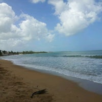 Photo taken at Playa Fortuna by Lawrence H. on 2/11/2012