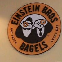 Photo taken at Einstein Bros Bagels by Brian D. on 8/31/2012