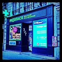 Photo taken at Pharmacie de la Place de la République by Pascal S. on 3/12/2012