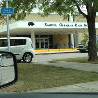 Photo taken at Samuel Clemens High School by Shelly V. on 6/14/2012