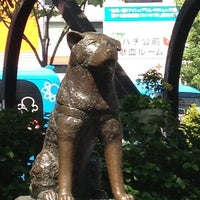 Photo taken at Hachiko Statue by kurock628 on 4/29/2012