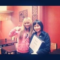 Photo taken at Fujisan Sushi by Miranee on 9/10/2012