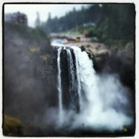 Photo taken at Snoqualmie Falls by Nickel P. on 8/7/2012