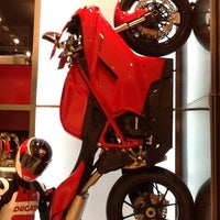 Photo taken at Ducati Caffe by Michelle M. on 5/30/2012