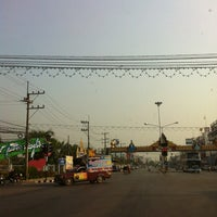 Photo taken at แยกสะเดียง (Sa Teang Intersection) by Godfrey D. on 3/21/2012