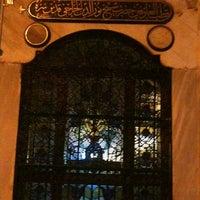 Photo taken at Tomb of Nureddin Cerrahi by Arzu C. on 6/28/2012