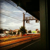 Photo taken at Station Gent-Dampoort by Els V. on 8/17/2012
