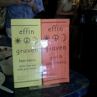 Photo taken at Effin' Gruven by Catherine R. on 6/23/2012