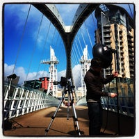 Photo taken at Salford Quays by Pip R. on 4/10/2012