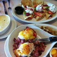 Photo taken at Egg Harbor Cafe by Jeannette kyungmin K. on 8/11/2012