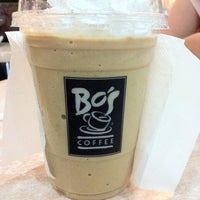 Photo taken at Bo's Coffee Club by Cheska G. on 5/5/2012