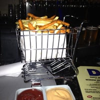 Photo taken at Delux Burger by Christina on 7/4/2012