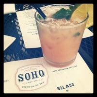 Photo taken at soho chicken + whiskey by Emma B. on 7/20/2012