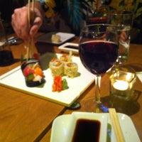 Photo taken at Dib Sushi Bar & Thai Cuisine by Leah N. on 6/16/2012