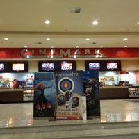Photo taken at Cinemark by Sandra M. on 7/26/2012