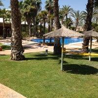 Photo taken at Hesperia Alicante Golf Spa by Stuart R. on 5/26/2012