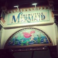 Photo taken at The Little Mermaid ~ Ariel's Undersea Adventure by Melissa L. on 6/3/2012