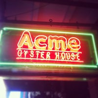 Photo taken at Acme Oyster House by Keaton O. on 4/14/2012