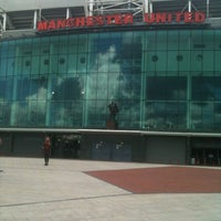 Photo taken at Manchester United Museum & Tour Centre by Iain T. on 5/21/2012