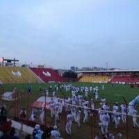 Photo taken at Estádio Mun. Pref. José Liberatti by Thiago on 6/17/2012