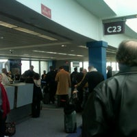Photo taken at Gate C23 by The Skox on 2/17/2012