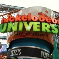 Photo taken at Nickelodeon Universe® by Mayela N. on 7/24/2012