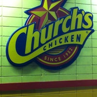 Photo taken at Church's Chicken by Amber J. on 5/18/2012