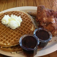 Photo taken at Roscoe's House of Chicken and Waffles by Susan W. on 2/13/2012