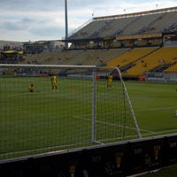 Photo taken at MAPFRE Stadium by Sabrina F. on 7/21/2012