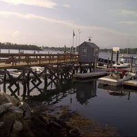 Photo taken at Portsmouth Yacht Club by Bill P. on 8/12/2012
