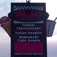 Photo taken at Devage's Subs & Donuts by Jenn D. on 4/26/2012