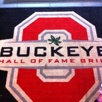 Photo taken at Buckeye Hall of Fame Grill by Aaron C. on 5/13/2012