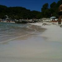 Photo taken at Cala Turqueta by Xevi S. on 7/18/2012